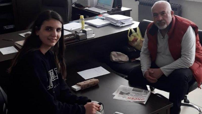 Milli Takım Sporcusu Büşra Şahin'le voleybol