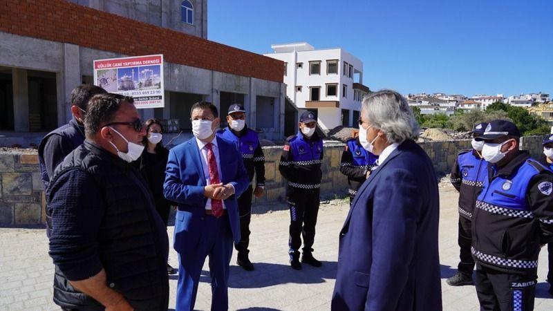 Başkan Tokat, Güllük Mahallesinde incelemelerde bulundu