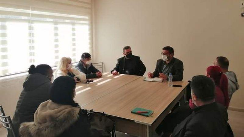 TSD Milas Temsilciliği, faaliyetlerini Kaymakam Böke ile paylaştı