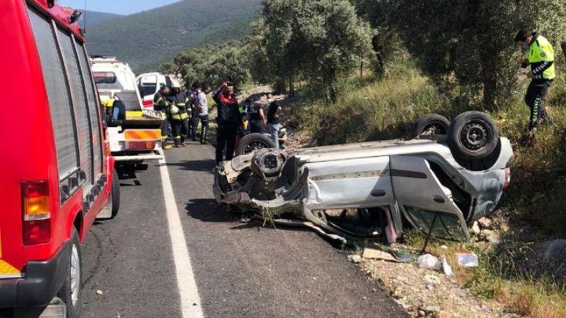 Bafa'da kaza: 2 yaralı