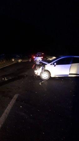 Milas'ta trafik kazası, sürücü yaralandı