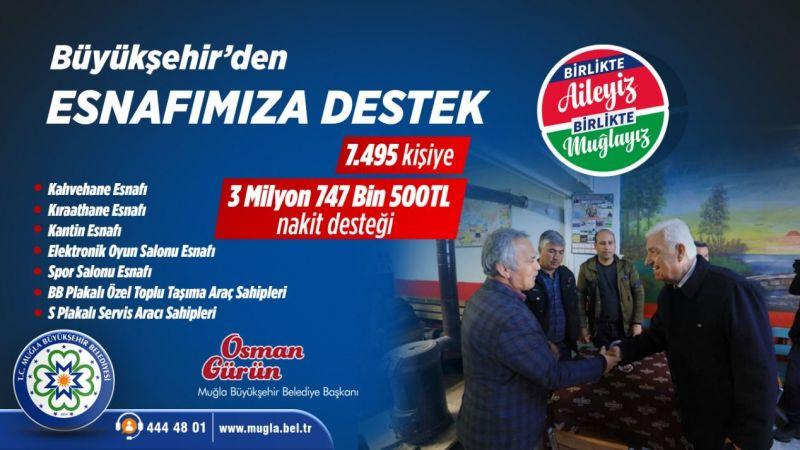 Başkan Gürün, esnafa maddi yardım paketi açıkladı