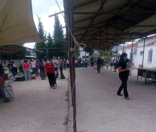 Beçin pazar yeri boş kaldı, vatandaş tepkili