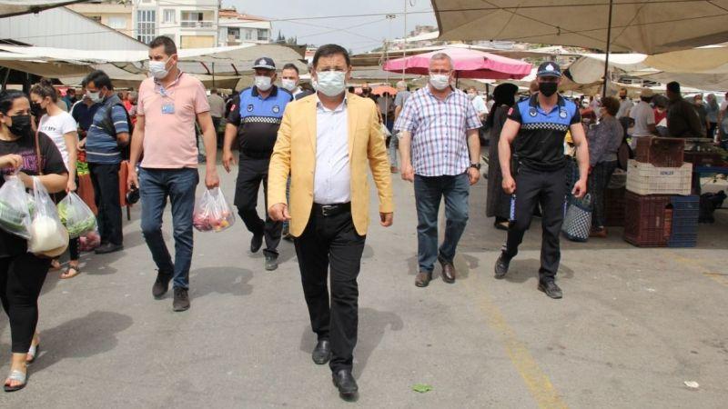 Başkan Tokat'tan boş kalan pazar hakkında açıklama