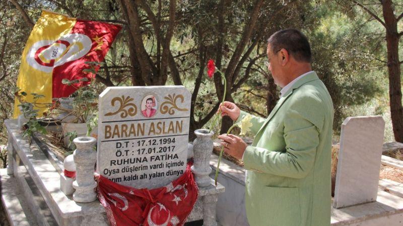 Başkan Tokat mezarlığı ziyaret etti