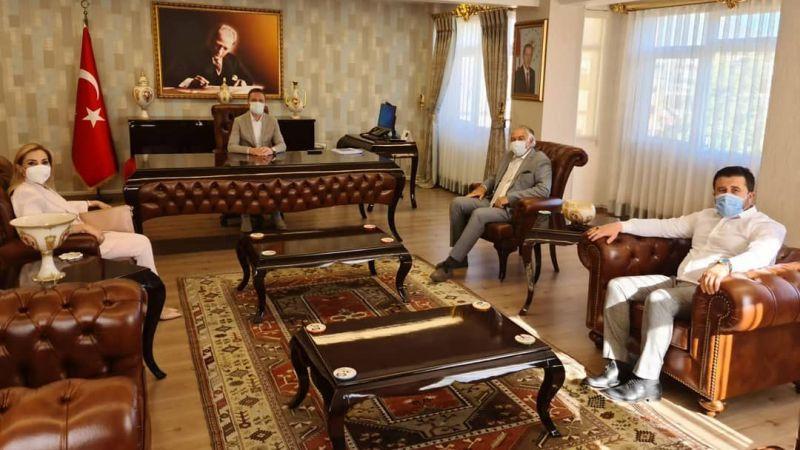 AK Parti Milletvekillerinden, Kaymakam Böke'ye ziyaret