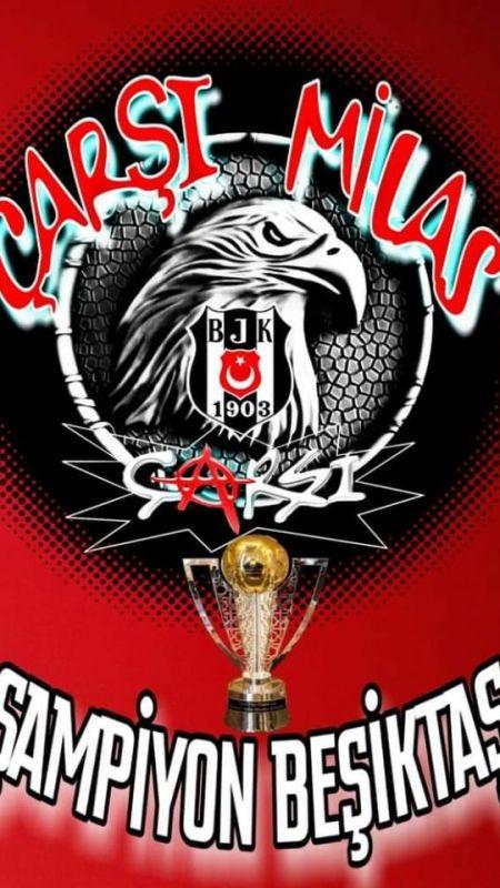 Milaslı Beşiktaşlılar şampiyonluğu kutladılar