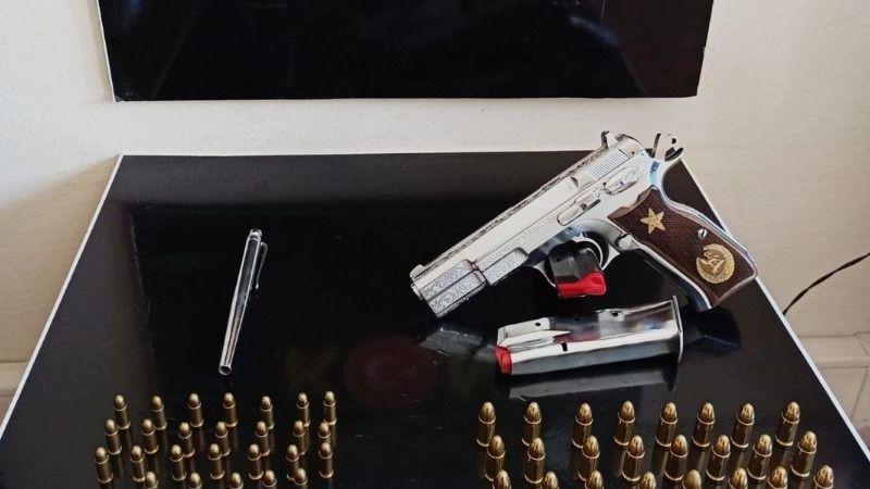 Suç örgütü üyeleri Milas'ta suikast silahıyla yakalandı