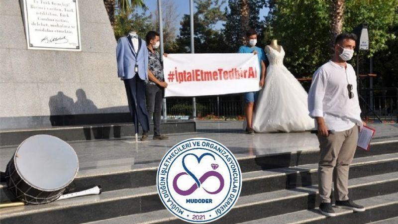 Düğün İşletmecileri ve organizasyoncular açılmayı bekliyor