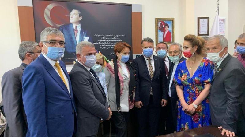 İYİ Parti Milas İlçe Teşkilatından, Meral Akşener'e destek