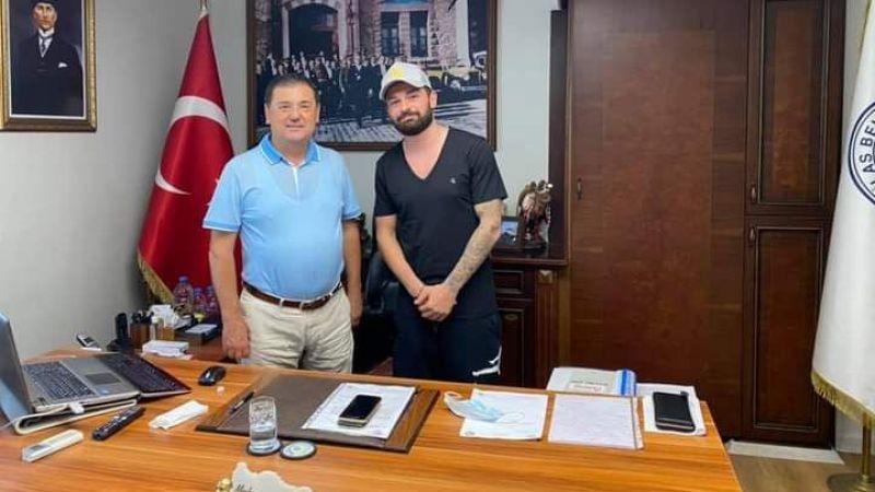 Giresunspor'un başarılı futbolcusu Eren Tozlu Milas'a geldi