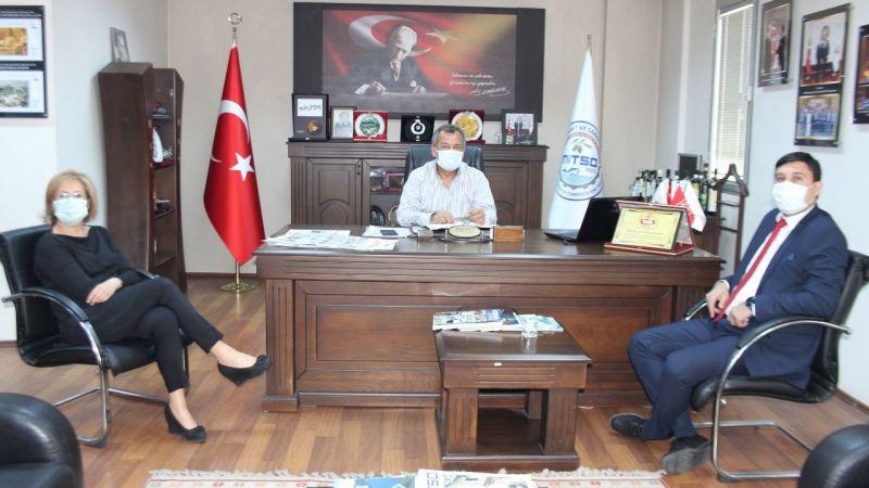 Milliyet Gazetesi temsilcileri MİTSO'da...