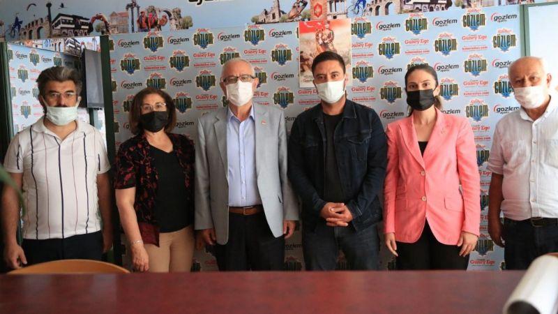 CHP yönetiminden Gözlem'e ziyaret