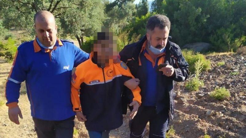 Kaybolan zihinsel engelli çocuk 17 saatin ardından bulundu