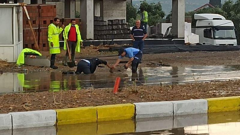 Otogar kavşağında su baskınına önlem şart!