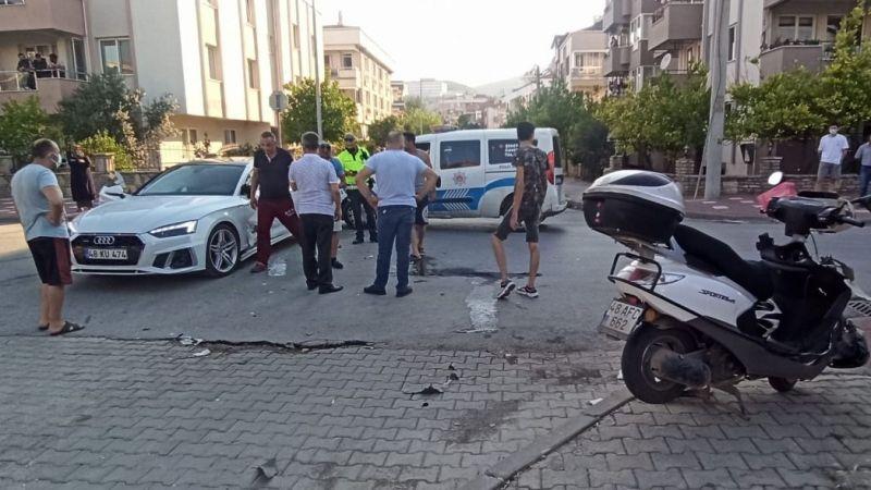 Milas'ta trafik kazası…