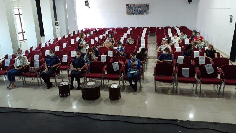 Anne ve öğretmenlere madde bağımlılığı semineri