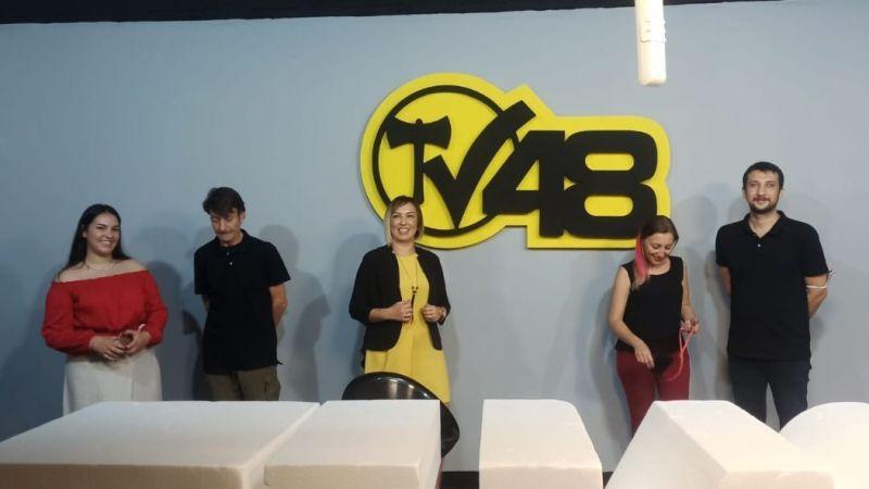Milas'ta TV48 ismiyle internet televizyonu kuruldu