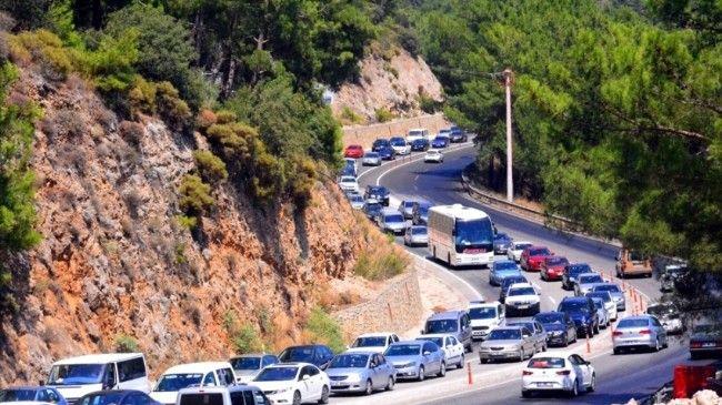 Muğla'da araç sayısı 539 bin 559'a ulaştı