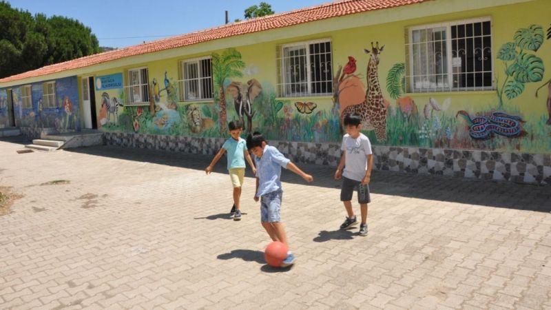 Milas'ın en renkli okulu