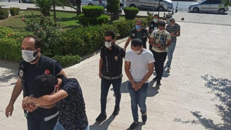 Uyuşturucuyla yakalandılar: 1'i tutuklu, 3'ü serbest…
