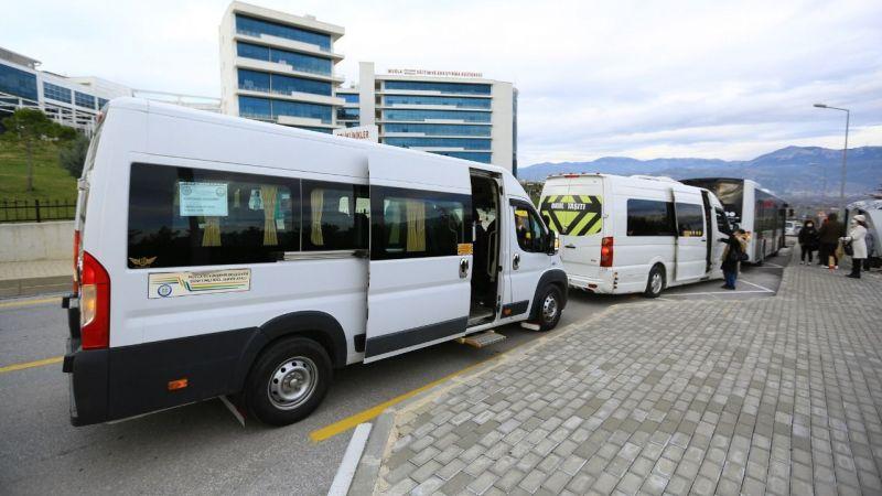 Büyükşehir, sağlık çalışanlarını 172 bin 601 kez ücretsiz taşıdı