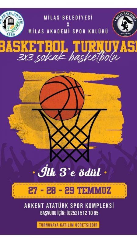 Yenilenen sahada 3×3 basketbol turnuvası düzenlenecek