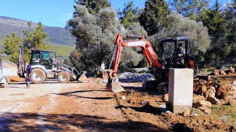 İş makineleri ve asfalt döküm işinde taraf tutuluyor iddiası!