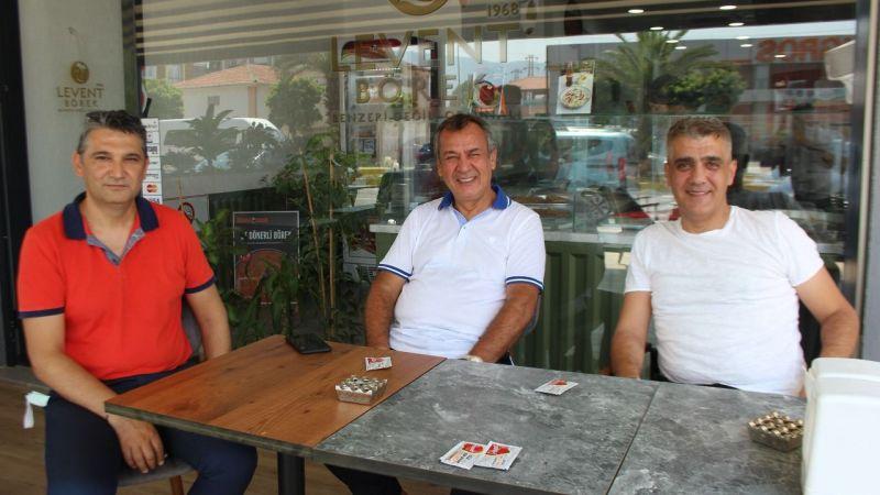 Levent Börek, Pasaport Pizza MİTSO üyesi oldu