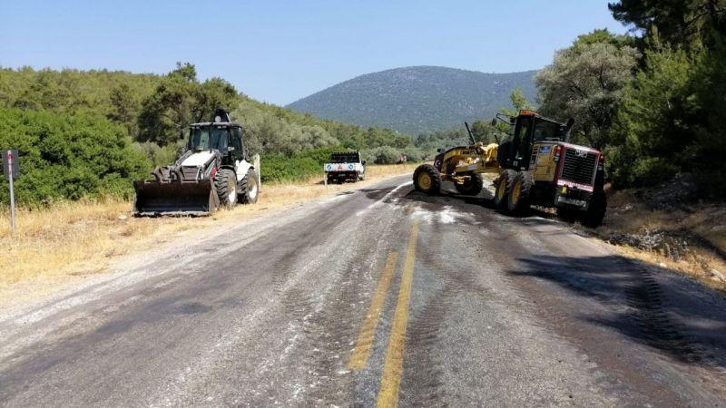 Kazıklı ve Gürçamlar'da yollar yenileniyor