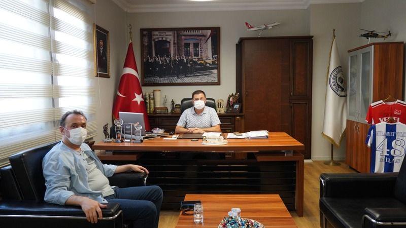 Müdür Yardımcısı Akkaya'dan Başkan Tokat'a ziyaret