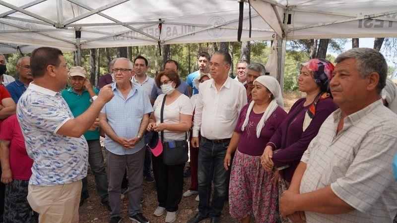 CHP'den İkizköylülere destek