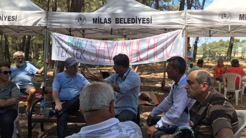 Milletvekili Ümit Özdağ'dan Akbelen direnişine destek