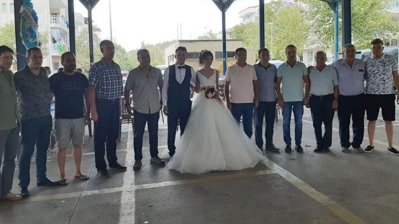 Başarılı sporcu evlendi