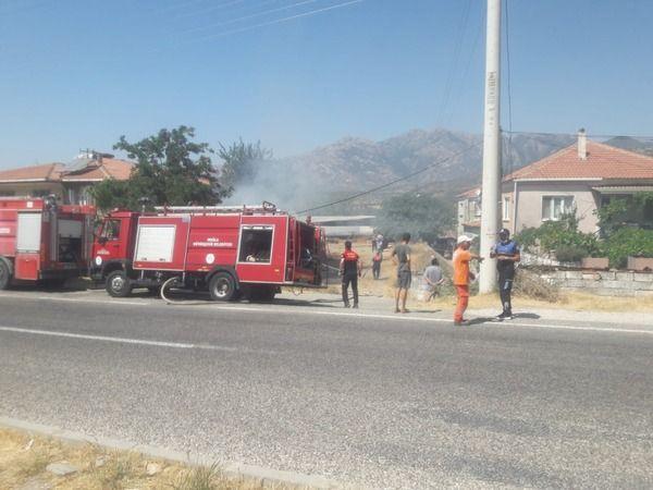 Bafa'da yine yangın, muhtar isyan etti!