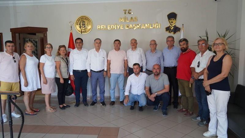 CHP heyetinden Başkan Tokat'a ziyaret