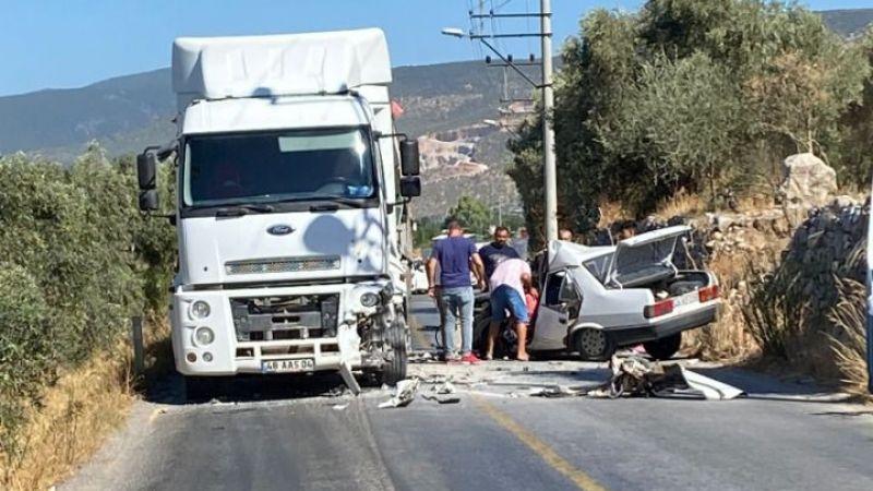 Avşar Mahallesinde trafik kazası