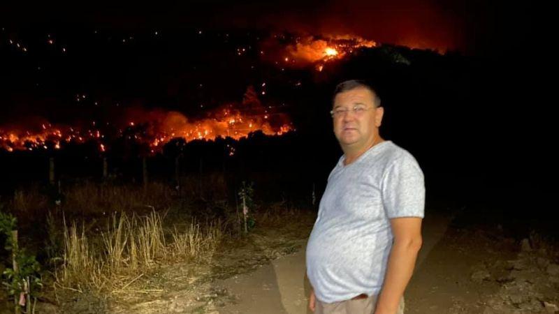 Yangın devam ediyor, durum artık çok ciddi