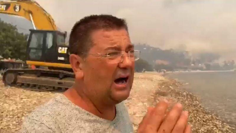 Milas Zabıta Müdürlüğü ekipleri tahliye etti