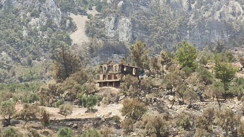 Sibel Tüzün'ün taşınmaya hazırlandığı evi de yandı