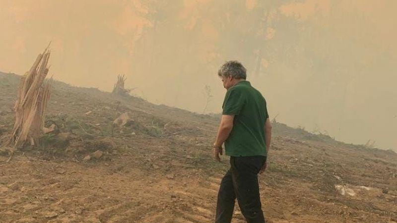 """""""Büyümeden söndürülebilecek yangınlar doğal felakete dönüştü"""""""