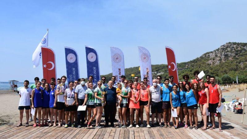 Plaj korfbol turnuvası Ortaca'da yapıldı