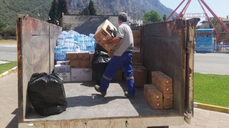 Milas Belediyesi Kastamonu'ya yardım elini uzattı