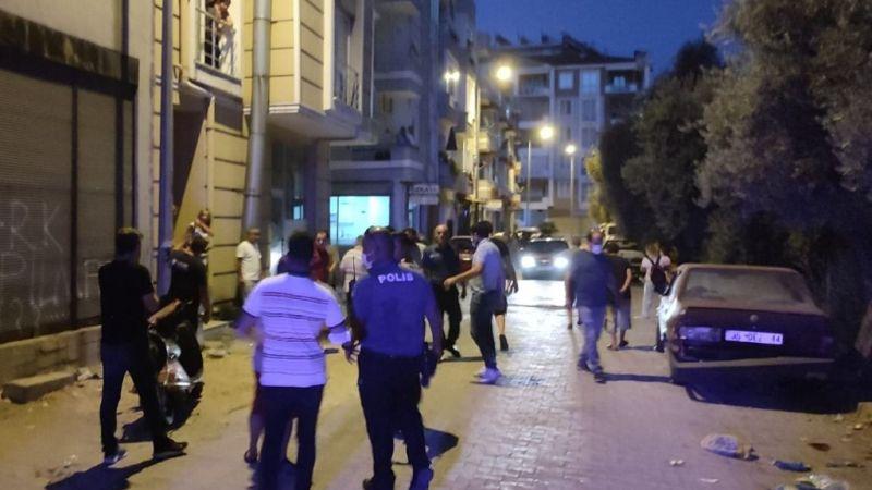 Milas'ta pompalı dehşet: 1 ağır yaralı