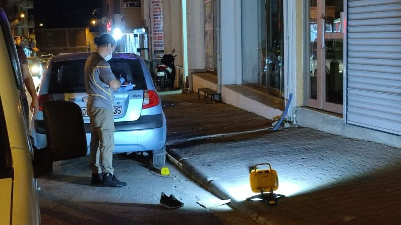 Milas'ta bıçaklı kavga: 2 yaralı