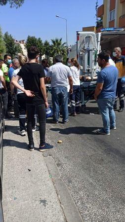 Milas'ta trafik kazası: 2 yaralı