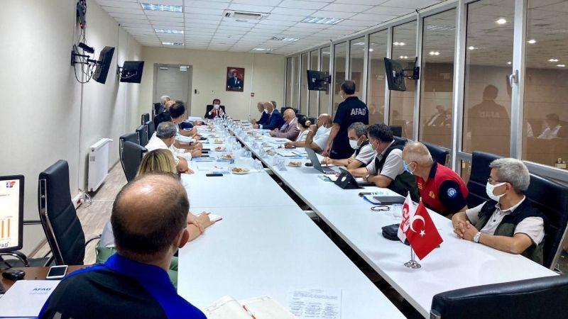 AFAD Koordinasyon ve Değerlendirme Toplantısı yapıldı