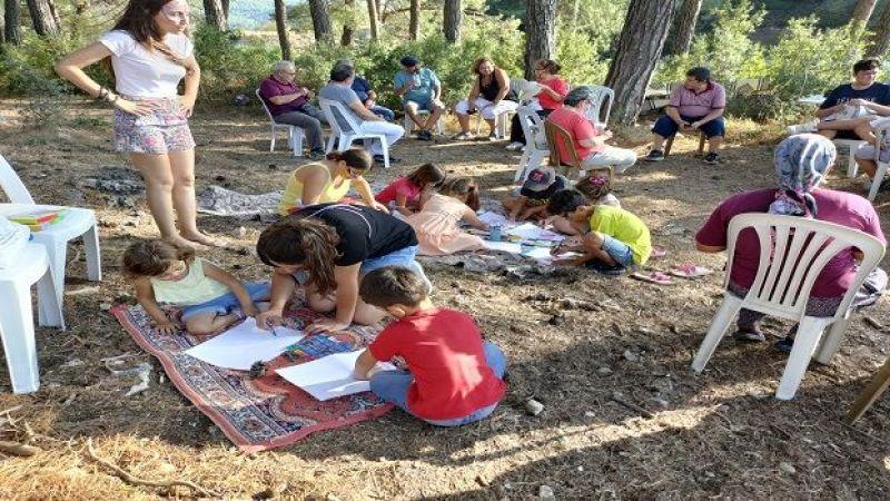 İkizköy-Akbelen Orman Nöbetinde Çocuk Şenliği