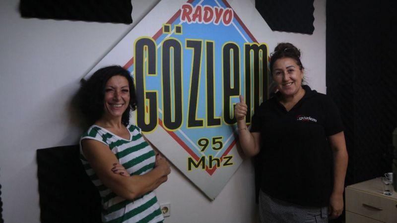 Gülay Sezer, Radyo Gözlem´in konuğu oldu