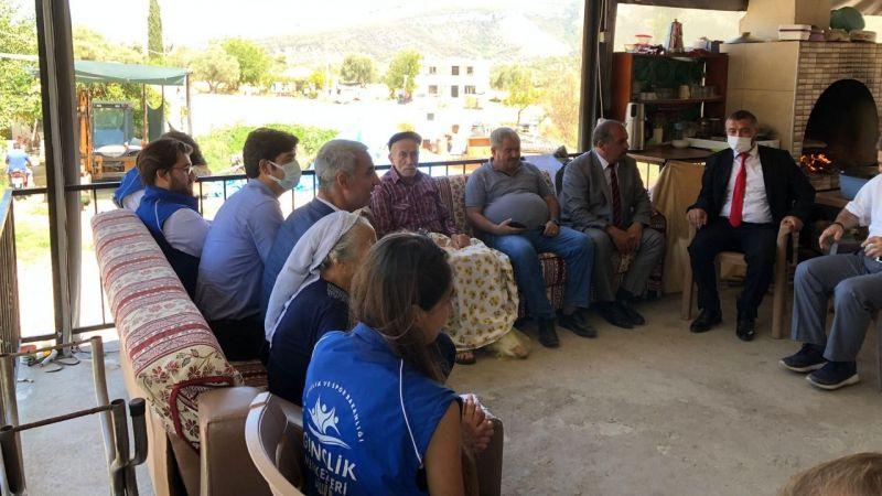 Şehit Ercan Aydın'ın ailesi ziyaret edildi